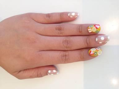 Nail Art Tutorial Refreshing Fruit Design Nailpro