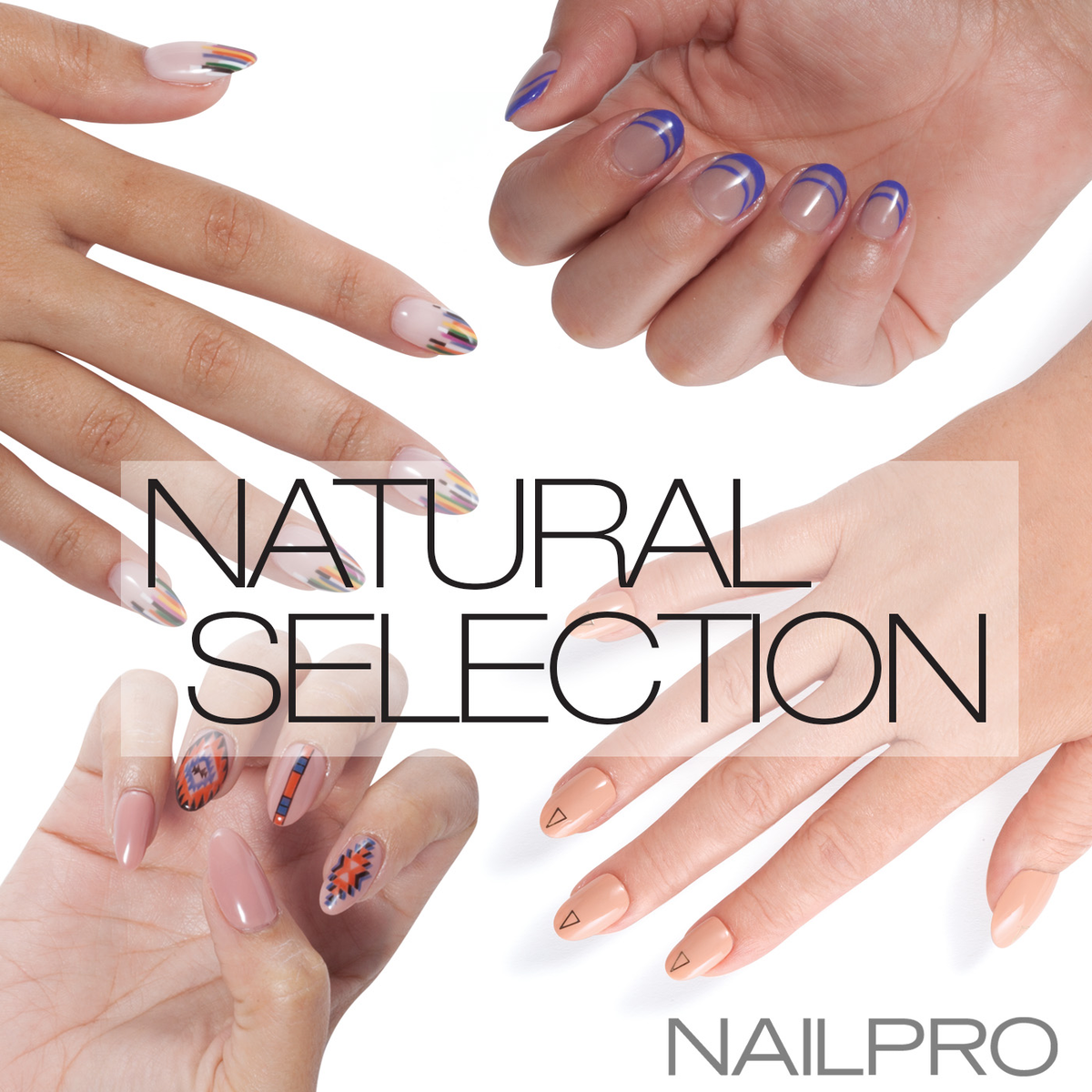 Dare to Go Bare With Four Hot Nude Nail Art Looks